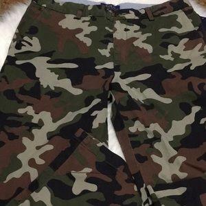 BNWT boys polo R.L. camp khaki pants size 20